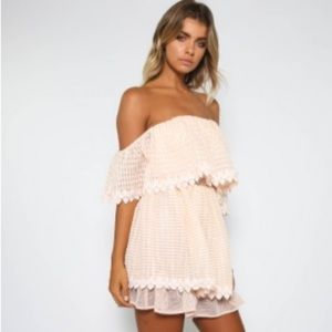 Talulah Beautiful Lie off the shoulder dress NWT